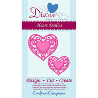 Crafters Companion Die'sire Cutting Die-Heart Doilies