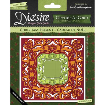 Crafters Companion DSCAD-XPRE Diesire Create-A-Card Cutting & Embossing Die-Christmas Present
