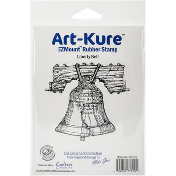 Crafters Companion Art-Kure Landmarks EZMount Stamp 3.25