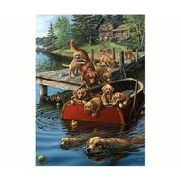 Willow Creek Press, Inc. Willow Creek Press Dog Paddle Puzzle