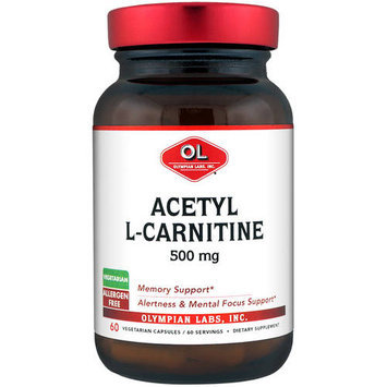 Olympian Labs Acetyl L-Carnitine 500 mg - 60 Vegetarian Capsules