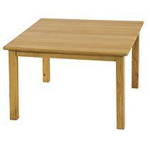 ECR4KIDS Square Hardwood Activity Table - 24 in.
