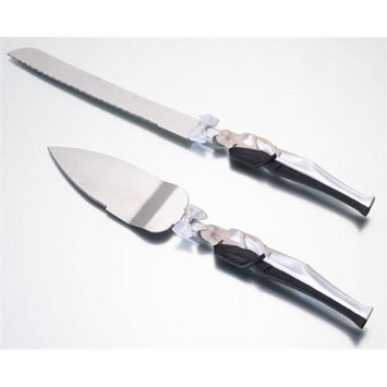 Lillian Rose Inc. Lillian Rose K960 C Couple Knife And Server Set-Cauc.