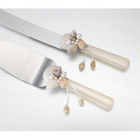 Lillian Rose Inc. Lillian Rose Seashell Knife & Server Set Women's