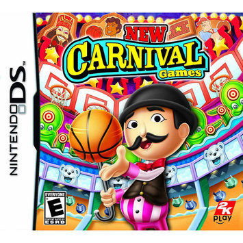 Take-two New Carnival Games Action/adventure Game - Nintendo Ds (35844)