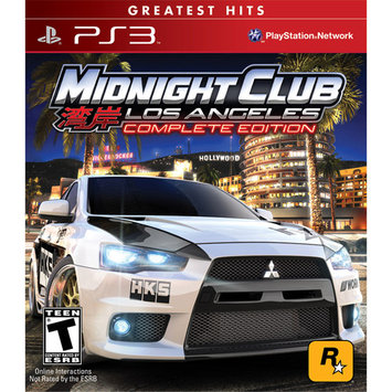 Take-two PlayStation 3 Midnight Club: Los Angeles - Complete Edition