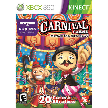 Take-two Carnival Games: Monkey See, Monkey Do - Xbox 360