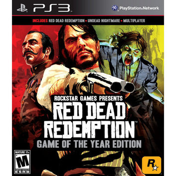Rockstar Games Red Dead Redemption: Game of the Year Edition Playstation3 Game ROCKSTAR