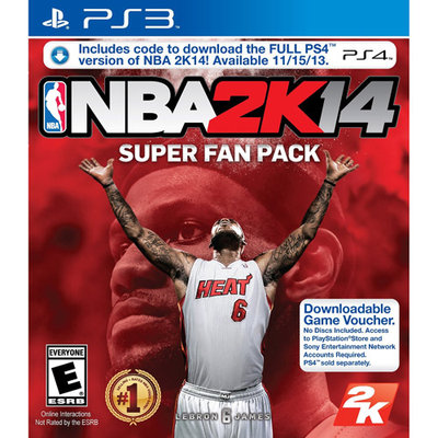 2k Sports Take-two Nba 2k14 Super Fan Pack - Sports Game - Download - Playstation 3 (47360)