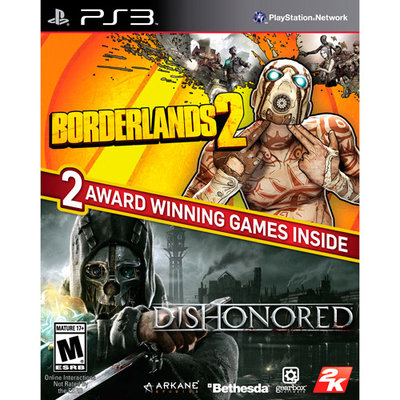 Take 2 Interactive PS3 - The Borderlands 2 & Dishonored Bundle