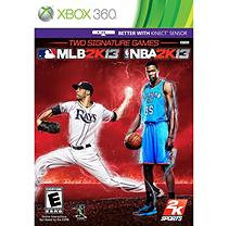 Take-Two Interactive MLB 2K13 and NBA 2K13 2 Pack Xbox 360
