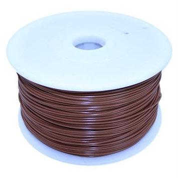 Dockwell 3D Printer PLA Filament 1.75mm 1kg Solid Brown