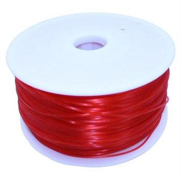 Dockwell 3D Printer PLA Filament 1.75mm 1kg Transparent Red