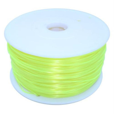 Dockwell 3D Printer PLA Filament 1.75mm 1kg Transparent Yellow