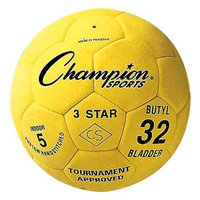 Champion Sports 3-Star Size 5 Indoor Soccer Ball