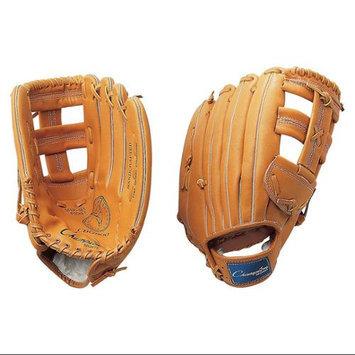 Champion Sports Leather Front Fielder's Glove, 13