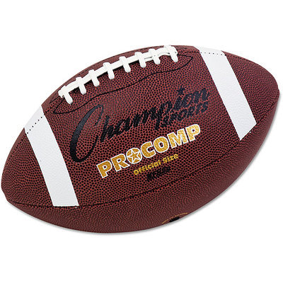 Champion Sports Pro Composite Football, Official Size, 22