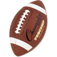 Champion Sports Pro Composite Football, Intermediate Size, 21, Brown