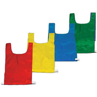 Champion Sports Numbered Nylon Pinnies - 12 Pack