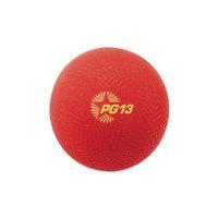 Champion Sports Playground Ball, 13 Diameter, Red