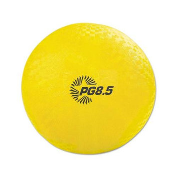 Champion Sports Playground Ball, 8 1/2in, Yellow