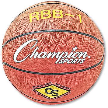 Champion Sports Basketball, Size No. 7, Orange