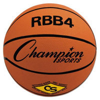 Olympia Sports RUBBER SPORTS BALL, FOR BASKETBALL, NO. 6, INTERMEDIATE SIZE, ORANGE