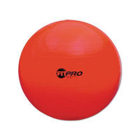 Champion Sports FitPro Training/Exercise Ball, 25 5/8in, Red