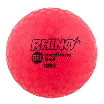 Champion Sports Rhino Gel Filled 2 lb. Medicine Ball