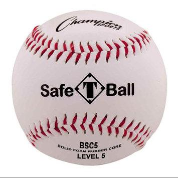 Champion Sports Official Soft Compression Level 5 Tee Ball (Dozen)