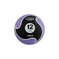 Champion Sports 12lb Medicine Ball with Textured Surface