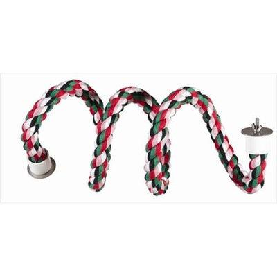 Caitec Bird Toys Caitec 270 Curled Cotton Perch 9/10 in. Diam - 61 in. Straight
