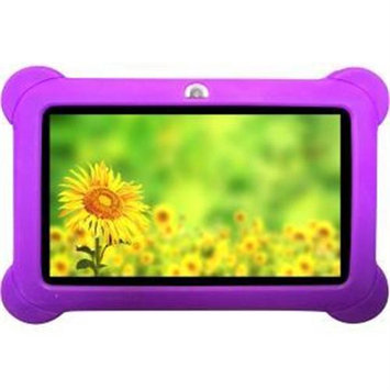 Worryfree Gadgets Zeepad Kids Tablet - Purple - Silicone