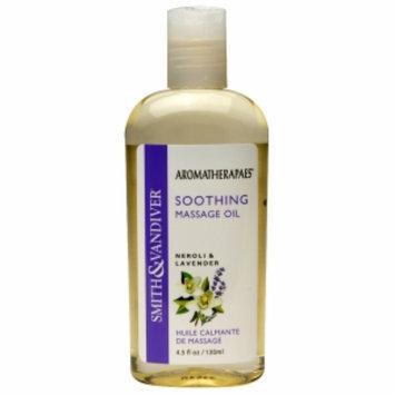 Aromatherapaes Soothing Massage & Bath Oil, Neroli & Lavender, 4.5 oz