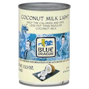 Blue Dragon Coconut Milk Light 13.5 Oz. - Case of 12