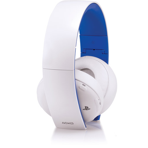 Sony Gold Wireless Stereo Headset - Glacier White