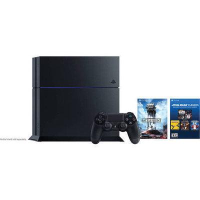 Sony - Playstation 4 500GB Star Wars Battlefront Bundle - Jet Black