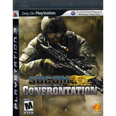 Sony 711719818328 Socom U.S. Navy Seals: Confrontation for Playstation 3