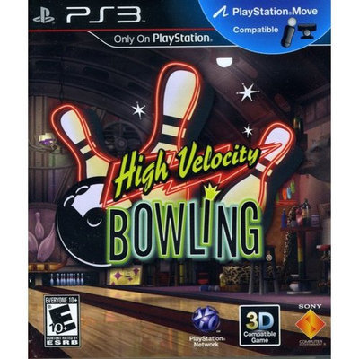 Sony PlayStation 98261 High Velocity Bowling MOVE