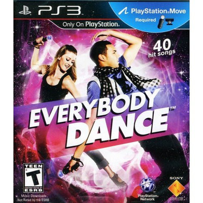 Sony Everybody Dance - Entertainment Game - PlayStation 3
