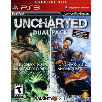 Uncharted 1 & 2 Dual Pack (Playstation 3)