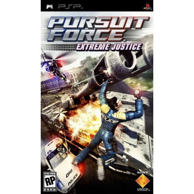 Sony 98703 Pursuit Force Extreme Justice Psp