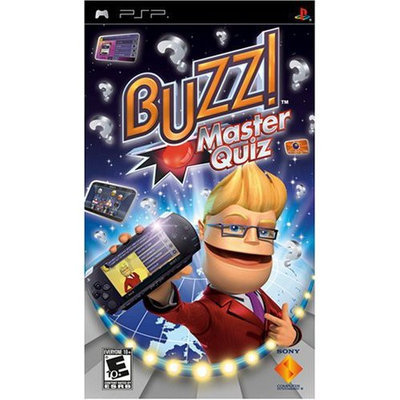 Sony Buzz! Master Quiz - Psp (sony 98729)