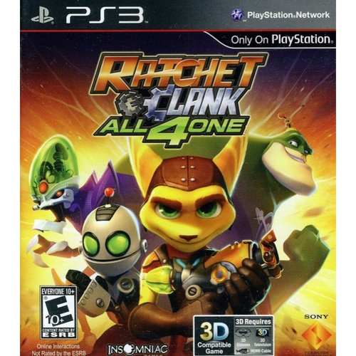 Sony Playstation 98175 Ratchet & Clank: All 4 One PS3