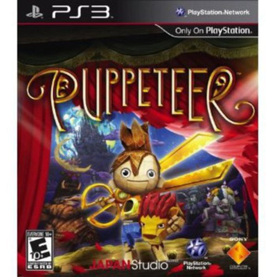 Sony Puppeteer - Action/Adventure Game - Blu-ray Disc - PlayStation 3