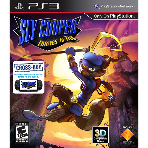 Sony 98247 Ps3 Sly Cooperthieves In Time