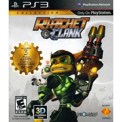 Sony PlayStation 98282 Ratchet and Clank Collection