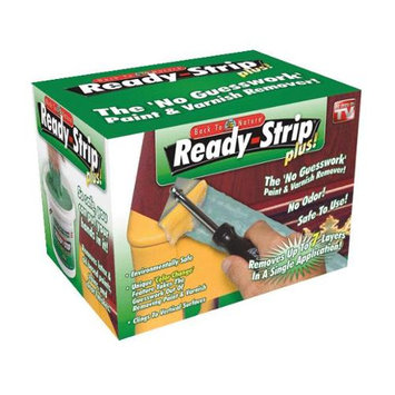 Ready Strip Ready-Strip 1 qt. Kit, Safer Paint and Varnish Remover Includes Scraper and Scouring Pads TV25