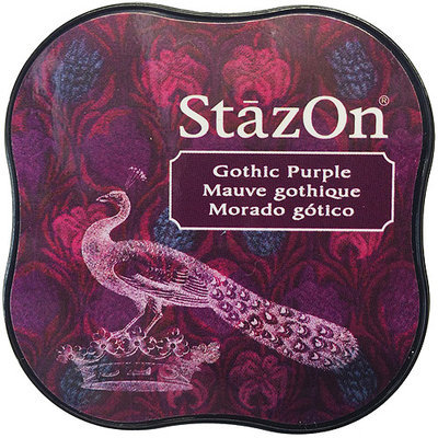Tsukineko SZMID-13 StazOn Midi Ink Pad-Gothic Purple