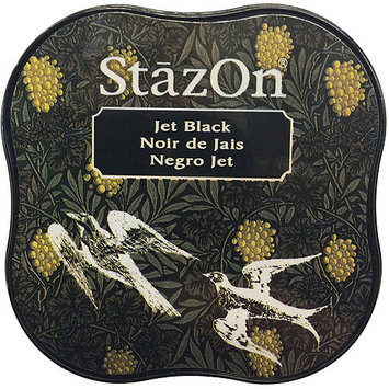 Tsukineko SZMID-31 StazOn Midi Ink Pad-Jet Black
